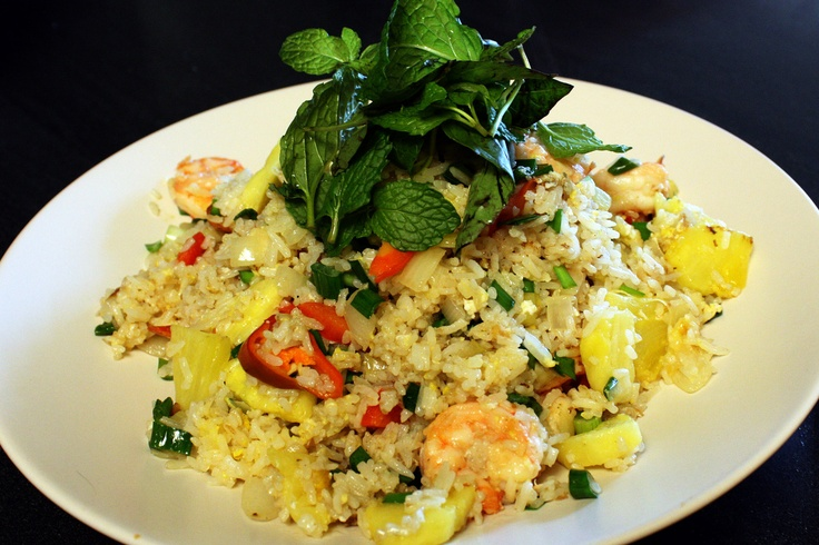 Pineapple Shrimp Fried Rice by Red Cook -- love when pineapple is ...
