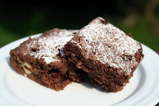 Nutty Coconut Caramel Brownies Recipes — Dishmaps