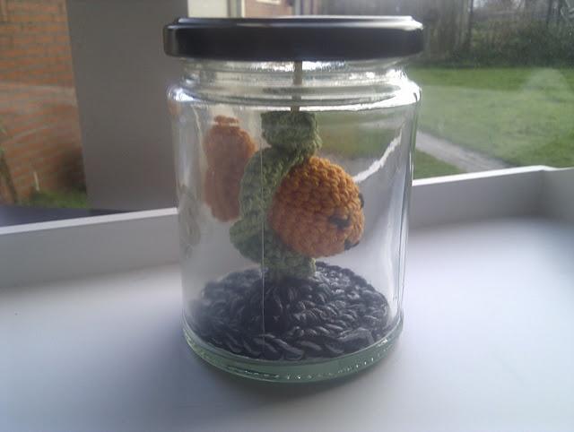 Fish in a jar crochet ideas pinterest for Fish in a jar