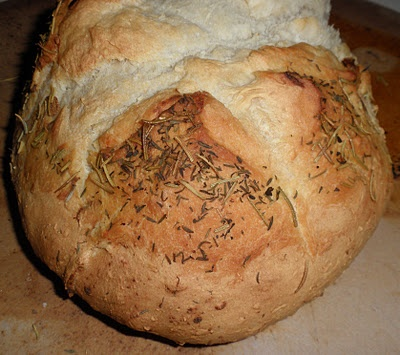 My Rosemary Thyme Garlic Bread | recipes to try | Pinterest