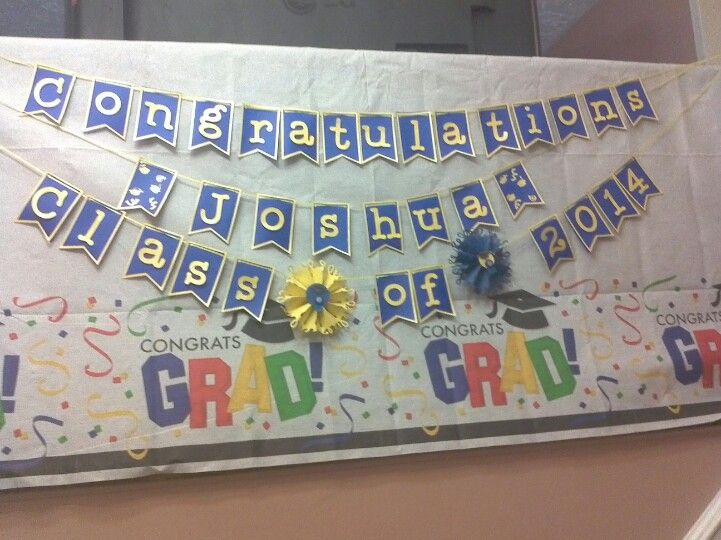 Graduation Banner   Graduation Party Ideas   Pinterest