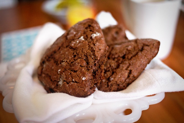 Chocolate Buttermilk Scones | Breakfast Brunch: Scones | Pinterest