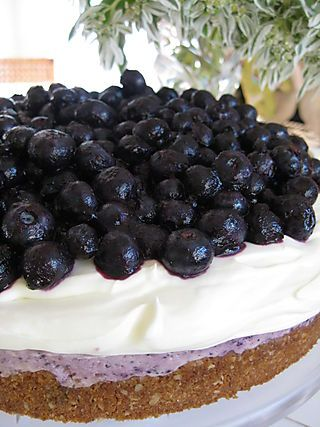 No bake Blueberry Cheesecake!! yummy | You'll rot your teeth | Pinter ...