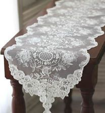 lace table runners wedding wedding reception pinterest