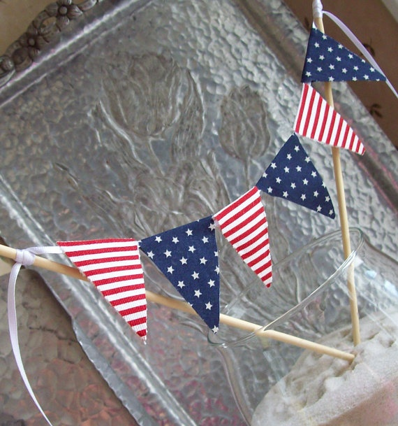 4th of july bunting patriotic decorations
