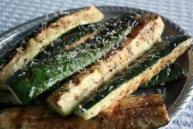 lemon grilled zucchini with yummy lemon salt recipes dishmaps grilled ...