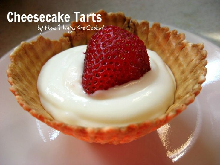 Cheesecake Tarts | Boosting Bloggers | Pinterest