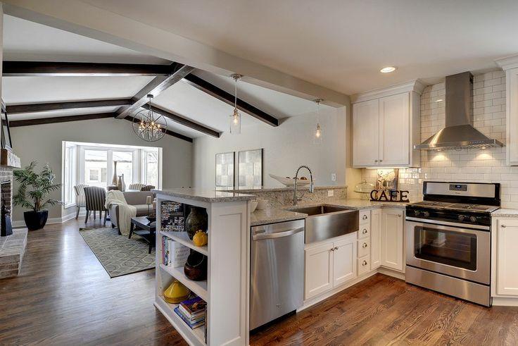 Open floor plan - kitchen/living room | Decor I Dig | Pinterest