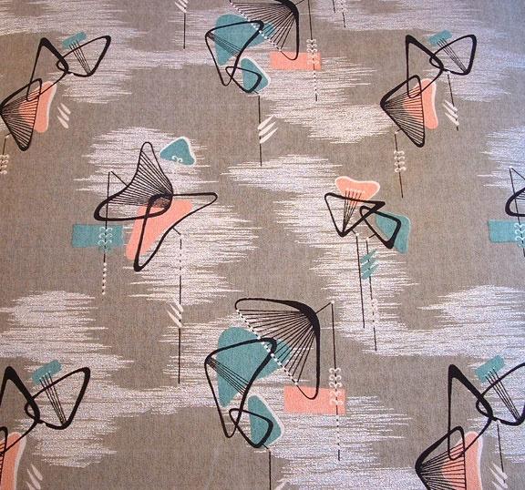 Melina Made Fabrics: Boomerang Mushroom