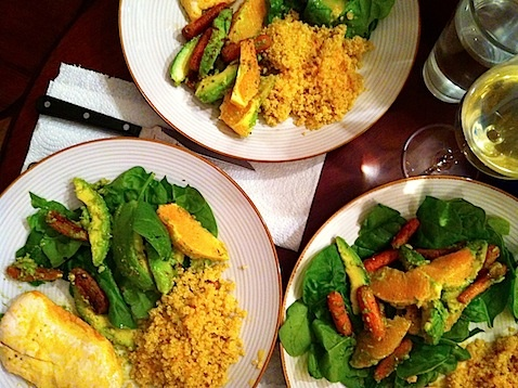 Roasted Carrot, Avocado, Orange Salad | Avocado Love | Pinterest