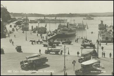 Gamle postkort norge