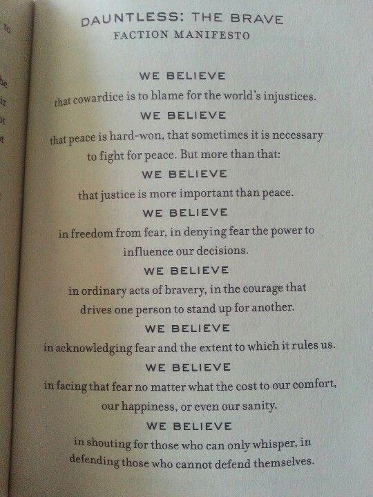 Divergent Manifesto Di...