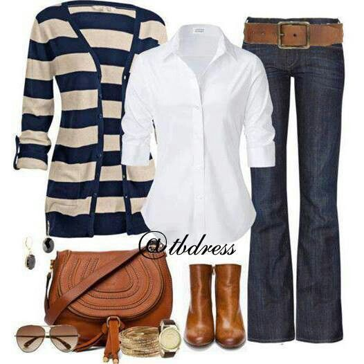 Casual Work Outfit Style Pinterest