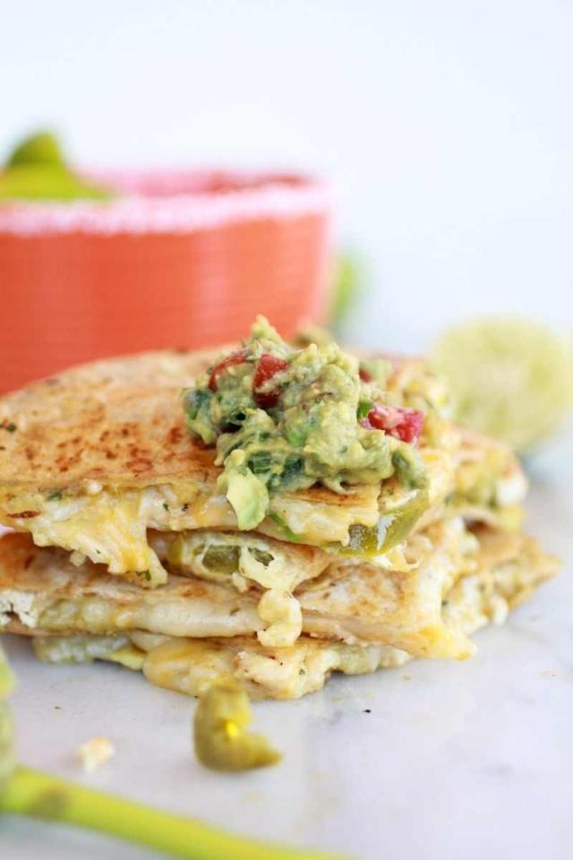 Chicken quesadillas | Foodie | Pinterest