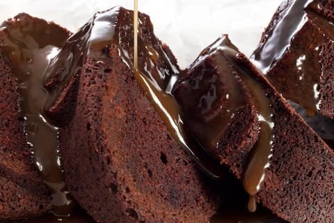 Espresso-Bourbon Caramel Sauce - The sweetness in this rich caramel ...