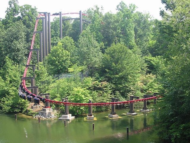 Big Bad Wolf Busch Gardens Europe Virginia Rode Insane