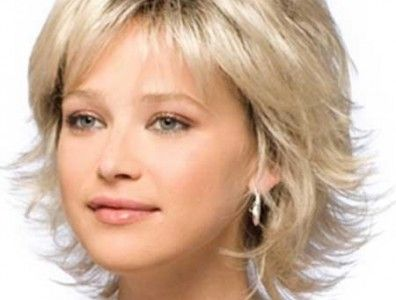 flippy lines and a face-flattering fringe - short flippy hairstyles ...