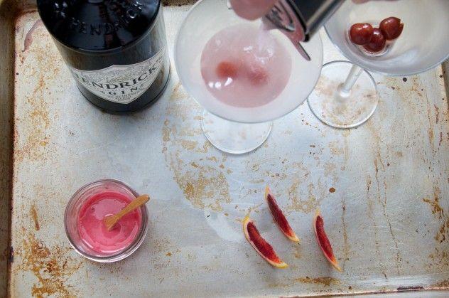 Blood Orange Gin Cocktail Recipe // Dula Notes