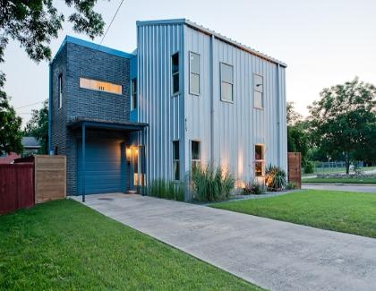 Metal siding corrugated metal pinterest for Cheap metal houses