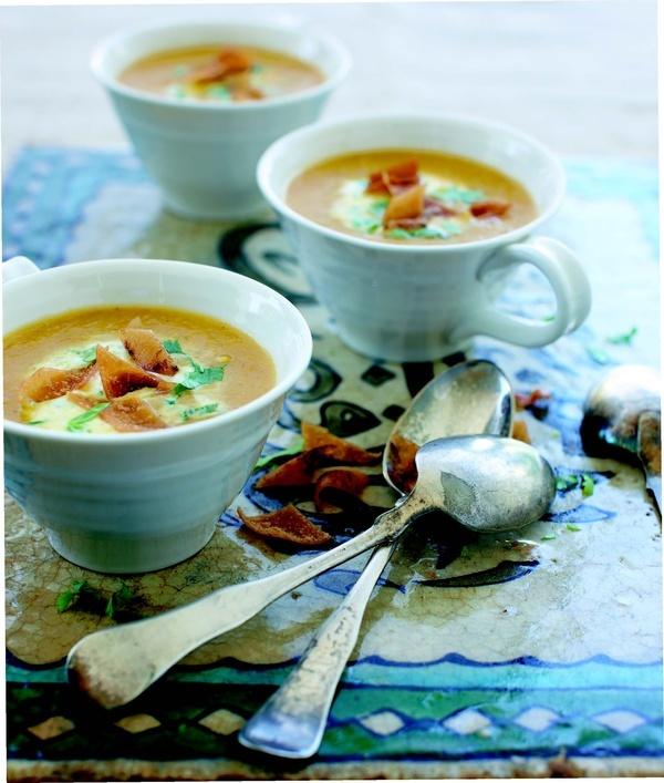 Creamy Orange Lentil Soup | soups, salads, & sides | Pinterest
