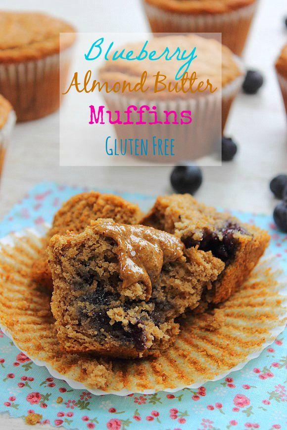 Blueberry Almond Butter Muffins | Cupcakes & Muffins | Pinterest