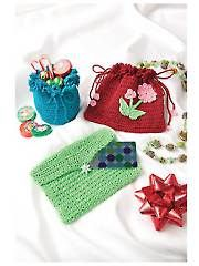 Free Knitting Pattern Gift Bag : CROCHET PATTERNS GIFT BAG FREE CROCHET PATTERNS