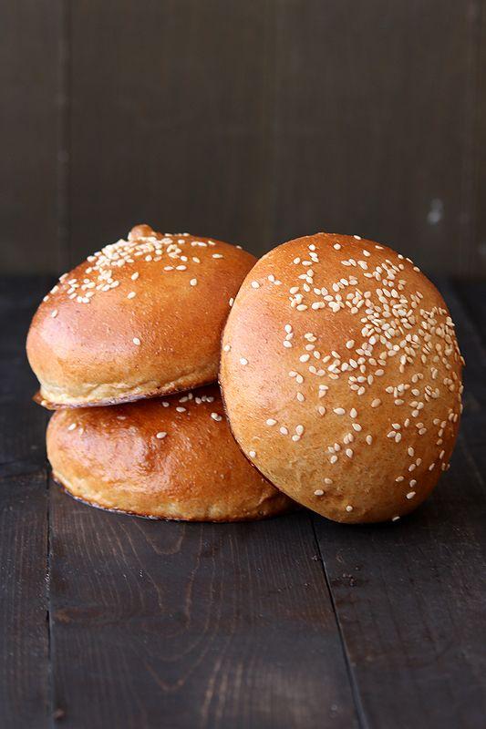 Wheat Brioche Buns Recipe — Dishmaps