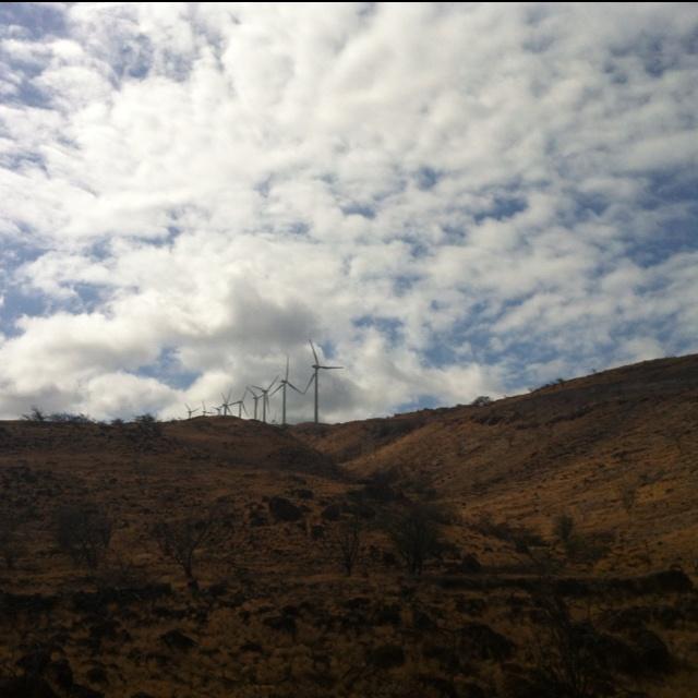 Wind farm. Maui, Hawaii. | Wind-Alternative Energy | Pinterest