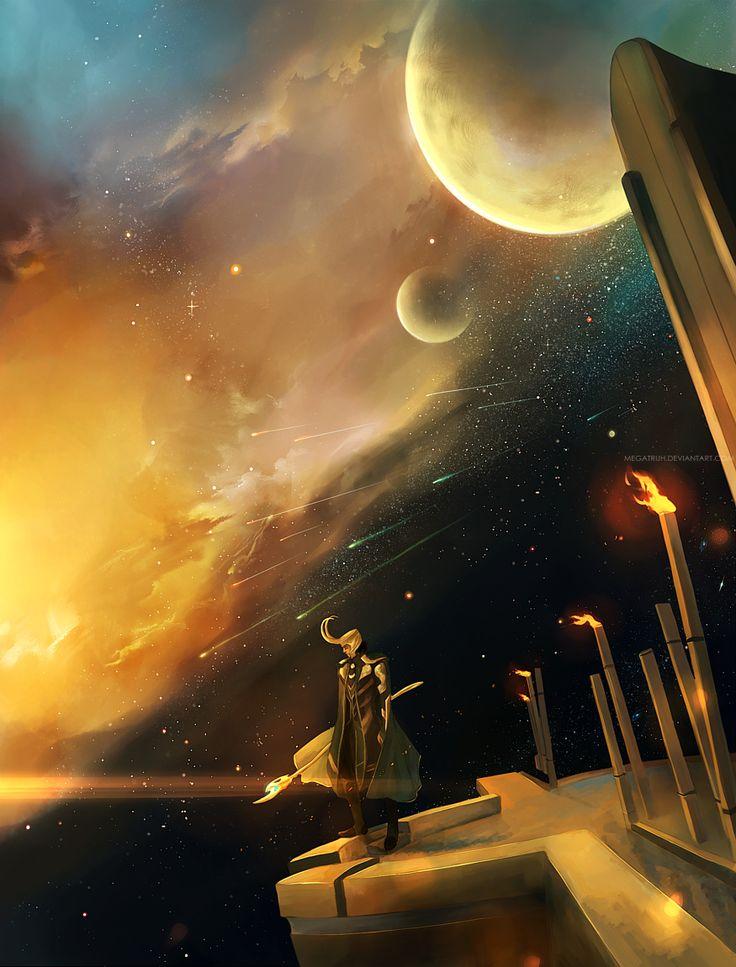 in Asgard . by *megatruh