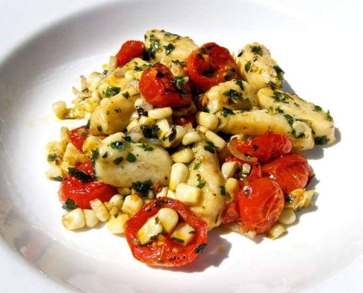 Gnocchi With Summer Vegetables Recipes — Dishmaps