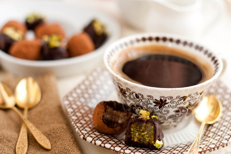 Salted Honey Pistachio Pralines and Maple Pecan Truffles by ...