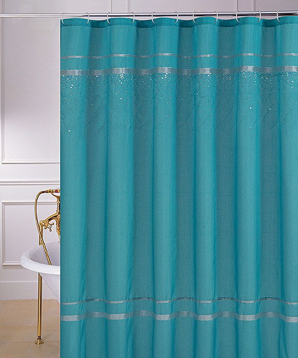 Shower Curtains Brown And Turquoise