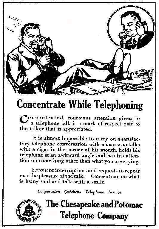 HOWTO use a phone (1917) - Boing Boing