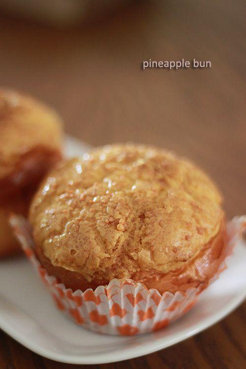 Pineapple Bun (Polo Bun/菠蘿包) | Rasa Malaysia