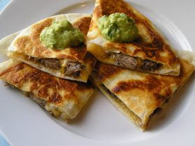 Edesia's Notebook: Tequila Marinated Steak Quesadillas