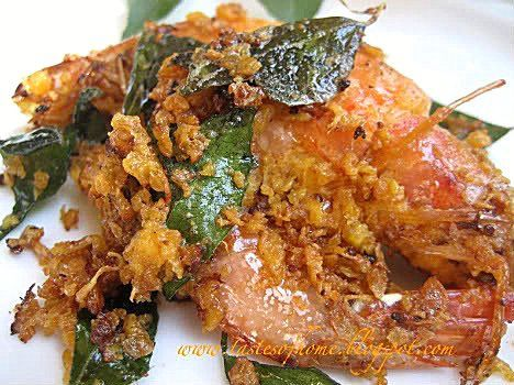 malaysian butter prawn recipe, seems easy!
