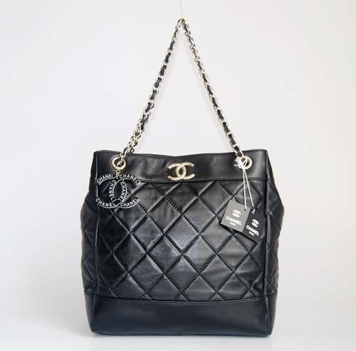 Chanel 6291 black chamois Handbag - $247 : Replica Bag Cheap Designer