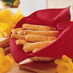 Soft Garlic Parmesan Breadsticks | Recipe