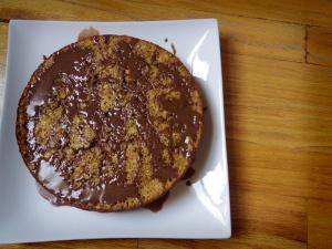 Maple Oatmeal Cake with Hot Cocoa Glaze | Oatmeal Recipes | Pinterest