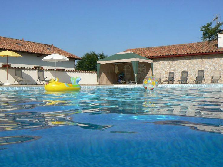 Pin by g tes de france pays basque et b arn on avec for Camping avec piscine pays basque