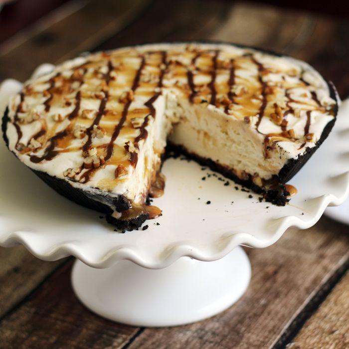 "Turtle Ice Cream Pie | ""special treat"" recipes | Pinterest"