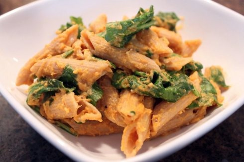 pumpkin spinach alfredo, looks amazing! | Meals & Main Dishes | Pinte ...