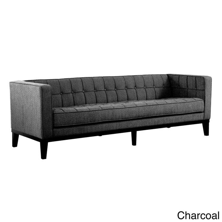 Roxbury Tufted Microfiber Sofa