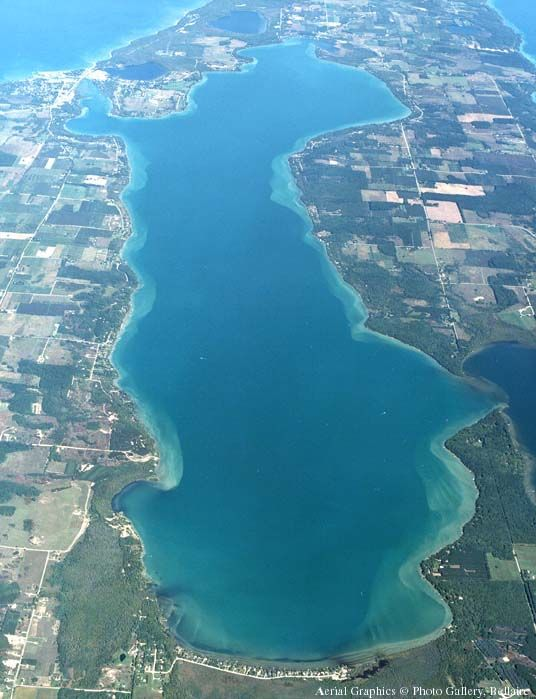 Elk Lake Michigan One Of The Cleanest Clearest