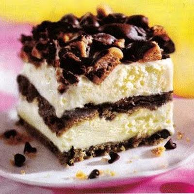 Chocolate Chip Cookie Ice Cream Cake | Dessert | Pinterest