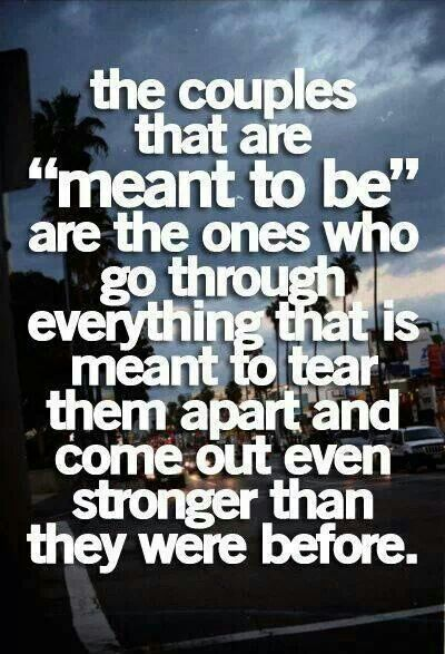 We were meant to be | Inspirations and quotes | Pinterest