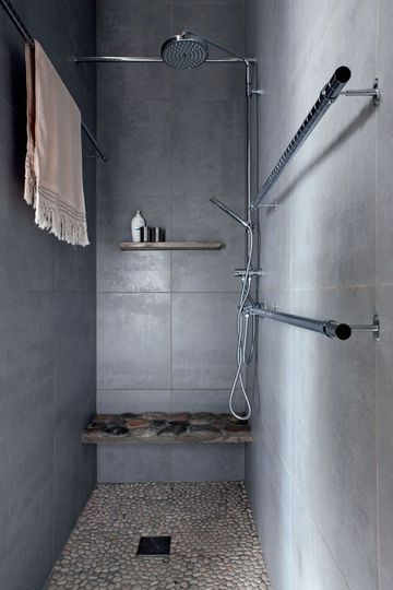 Italian shower minimal pinterest for Bathroom in italian