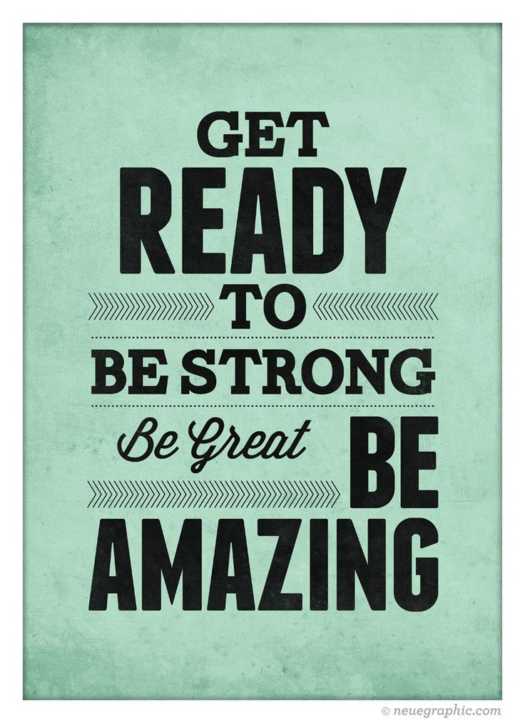 inspirational quote wall decor get ready to be strong be