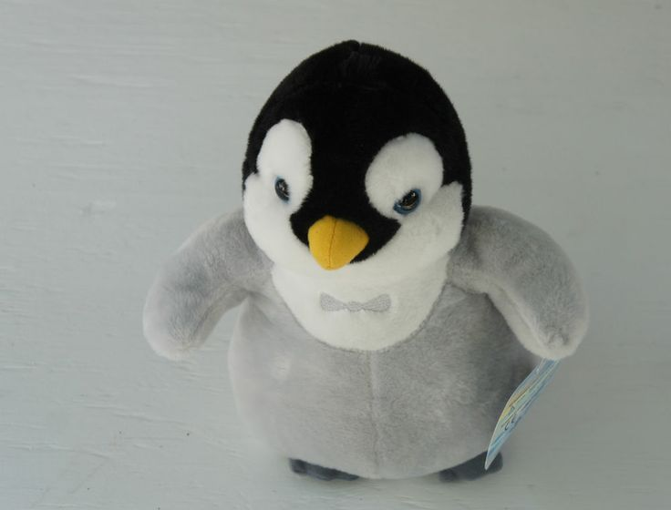 stuffed penguin for valentines day