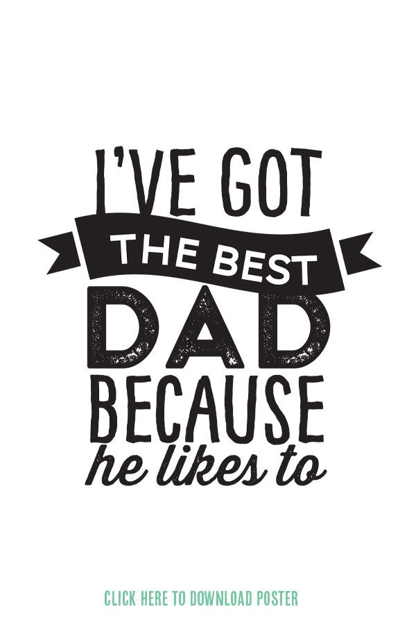 poster on father's day